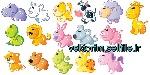 2013182x150 - وکتور حیوانات کارتونی-وکتور شیر-موش-زرافه-گاو-سگ-گوسفند-اسب آبی-دایناسور-مار-روباه-خرگوش-حلزون-خوک-فایل کورل